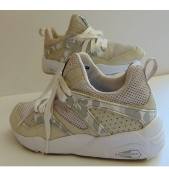 e0ec7f64f60590 Bape Shoes - Puma X Bape Blaze of Glory Camo Men 6 Women 7.5